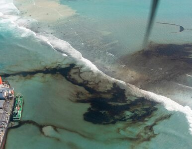 Katastrofa naturalna na Mauritiusie widoczna z kosmosu. ESA publikuje...