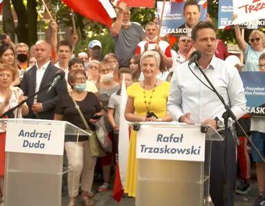 """Trzaskowski apeluje do Dudy o debatę trzech stacji. """"Do rozmów nie jest..."""