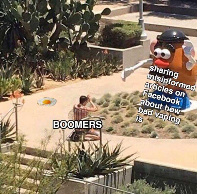 """Mem do hasła """"OK boomer"""""""
