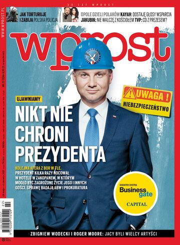 Okładka tygodnika Wprost nr 22/2017 (1788)
