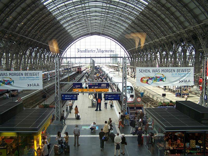 Frankfurt - Dworzec Główny