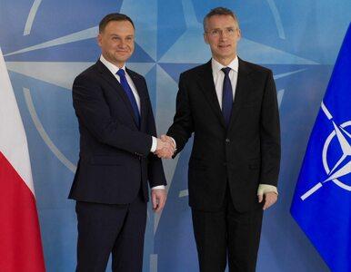 """Spotkanie Dudy ze Stoltenbergiem. """"Polska liderem NATO w regionie"""""""