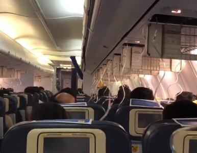 Pasażerowie krwawili z nosów i uszu przez niskie ciśnienie. Samolot...