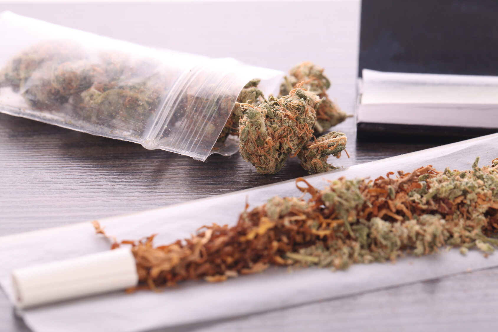 Marihuana, zdj. ilustracyjne