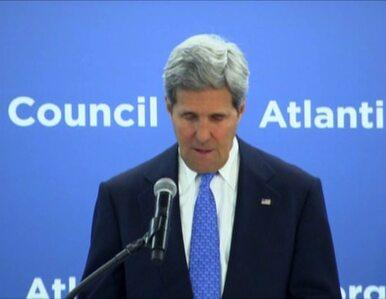 Kerry: Wydarzenia na Ukrainie to dla nas pobudka