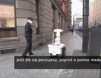 Roboty na ulicach chińskich miast. Mają pomóc zwalczać koronawirusa