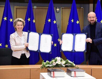 Brexit. Umowa handlowa z Wielką Brytanią została podpisana