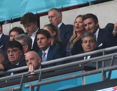 Euro 2020. Tom Cruise, David Beckham, Kate Moss i inni. Plejada gwiazd...