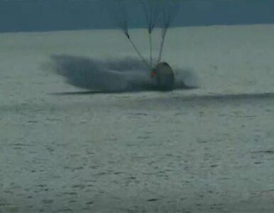 Smok wylądował. Sukces przełomowej misji kosmicznej SpaceX