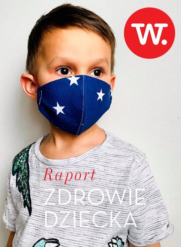 Okładka Raport Wprost – Zdrowie dziecka (2020 r.)