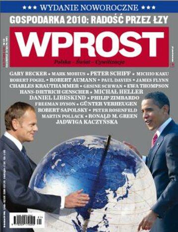 Okładka tygodnika Wprost nr 1/2/2009 (1357)