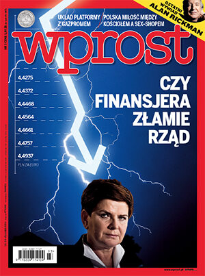 Okładka tygodnika Wprost nr 3/2016 (1720)