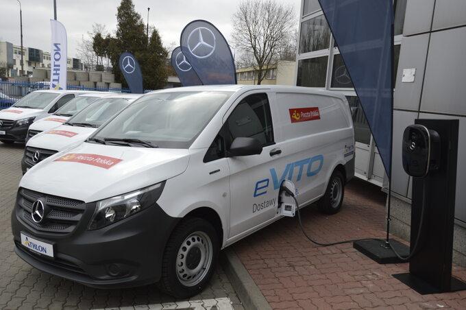 Poczta Polska _ testy aut elektrycznych o ładowności do 800 kg (2)