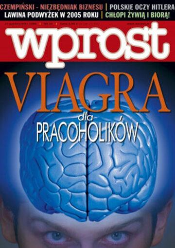 Okładka tygodnika Wprost nr 44/2004 (1144)