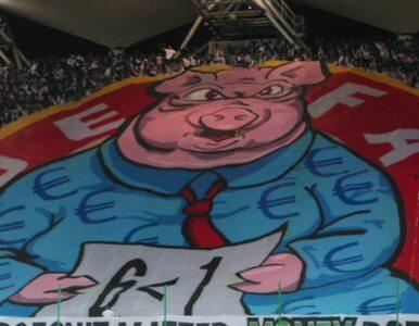 Legia zostanie ukarana za oprawę obrażającą UEFA