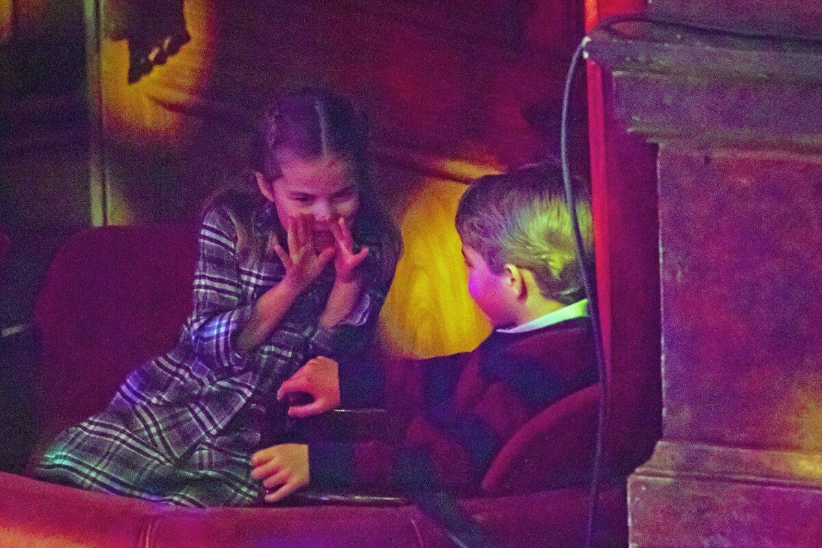 George i Charlotte dokazywali na trybunie królewskiej