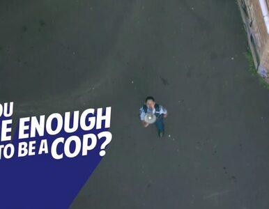 Tak Nowa Zelandia zachęca do wstąpienia w szeregi policji. Spot szybko...