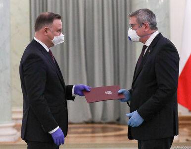 Prezydent powołał Murdzka na stanowisko ministra. To on zastąpił Gowina