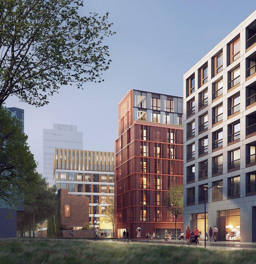 Apartamenty przy warzelni Apartamenty przy warzelni w Browarach Warszawskich