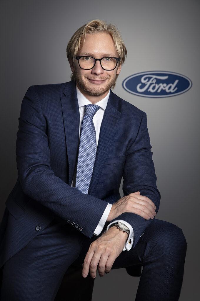 Piotr Pawlak, nowy szef Forda