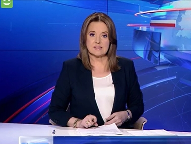 """Nietypowy sondaż w """"Wiadomościach"""" TVP. """"Kolejne kraje i politycy..."""
