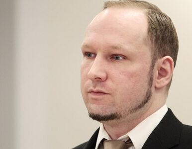 Anders Breivik chce wyjść na wolność. Sąd rozpatrzy jego wniosek