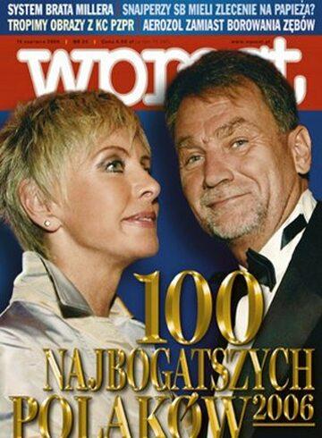 Okładka tygodnika Wprost nr 24/2006 (1227)