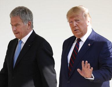 Swobodny gest Trumpa wobec prezydenta Finlandii. Polityk zareagował...