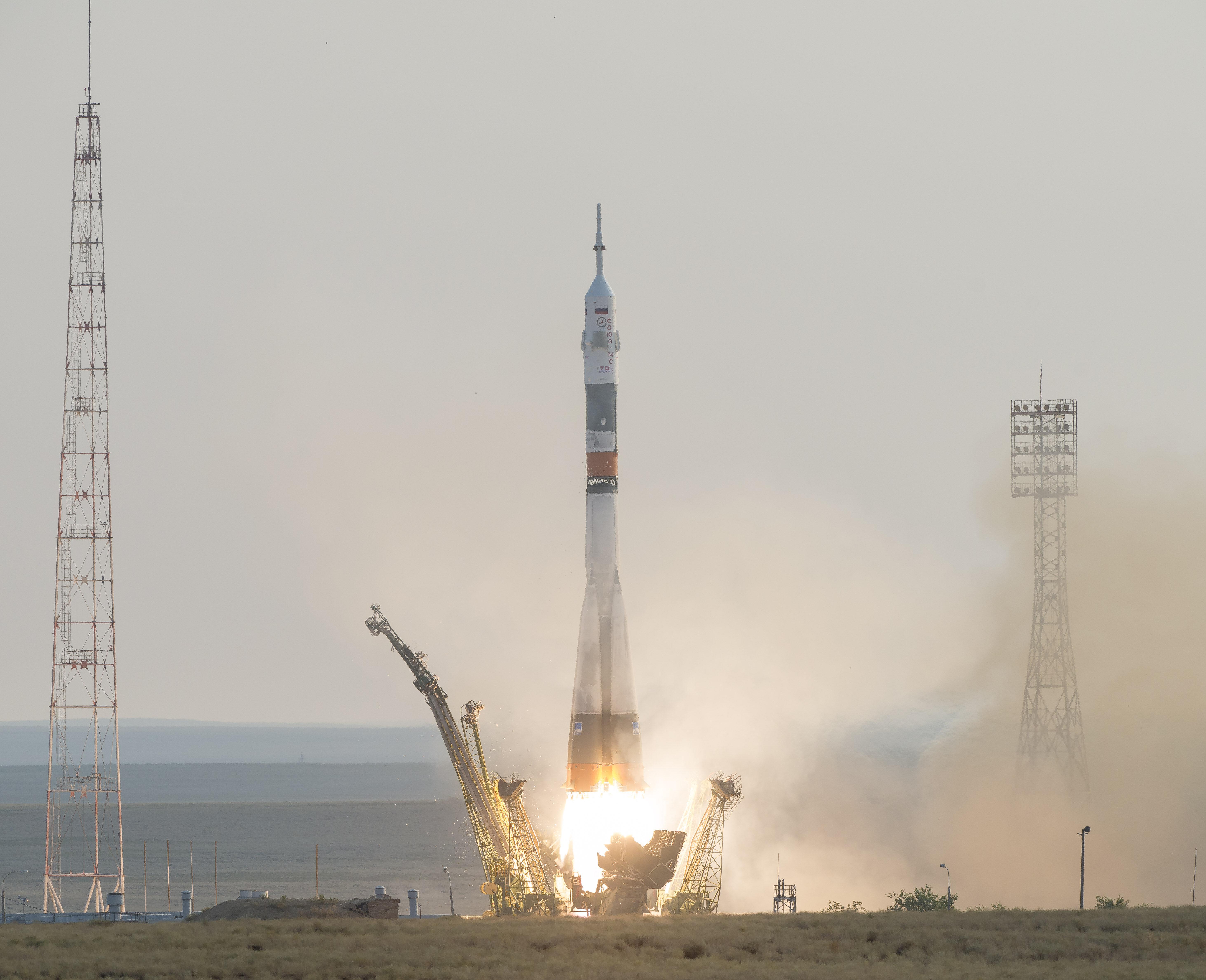 07.07.2016 - start rakiety Sojuz