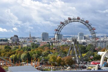 1. miejsce -  Austria (na zdjęciu Prater - Wiedeń)