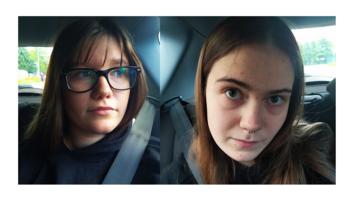 16-letnia Wiktoria Długosz i 17-letnia Oliwia Kulik