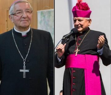 Abp Sławoj Leszek Głódz i biskup Edward Janiak