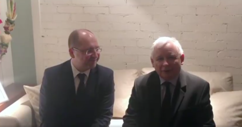 Adam Bielan i Jarosław Kaczyński