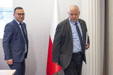 Adam Glapiński i Rafał Sura