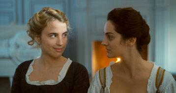 Adèle Haenel i Noémie Merlant w filmie Portret kobiety w ogniu (2019)