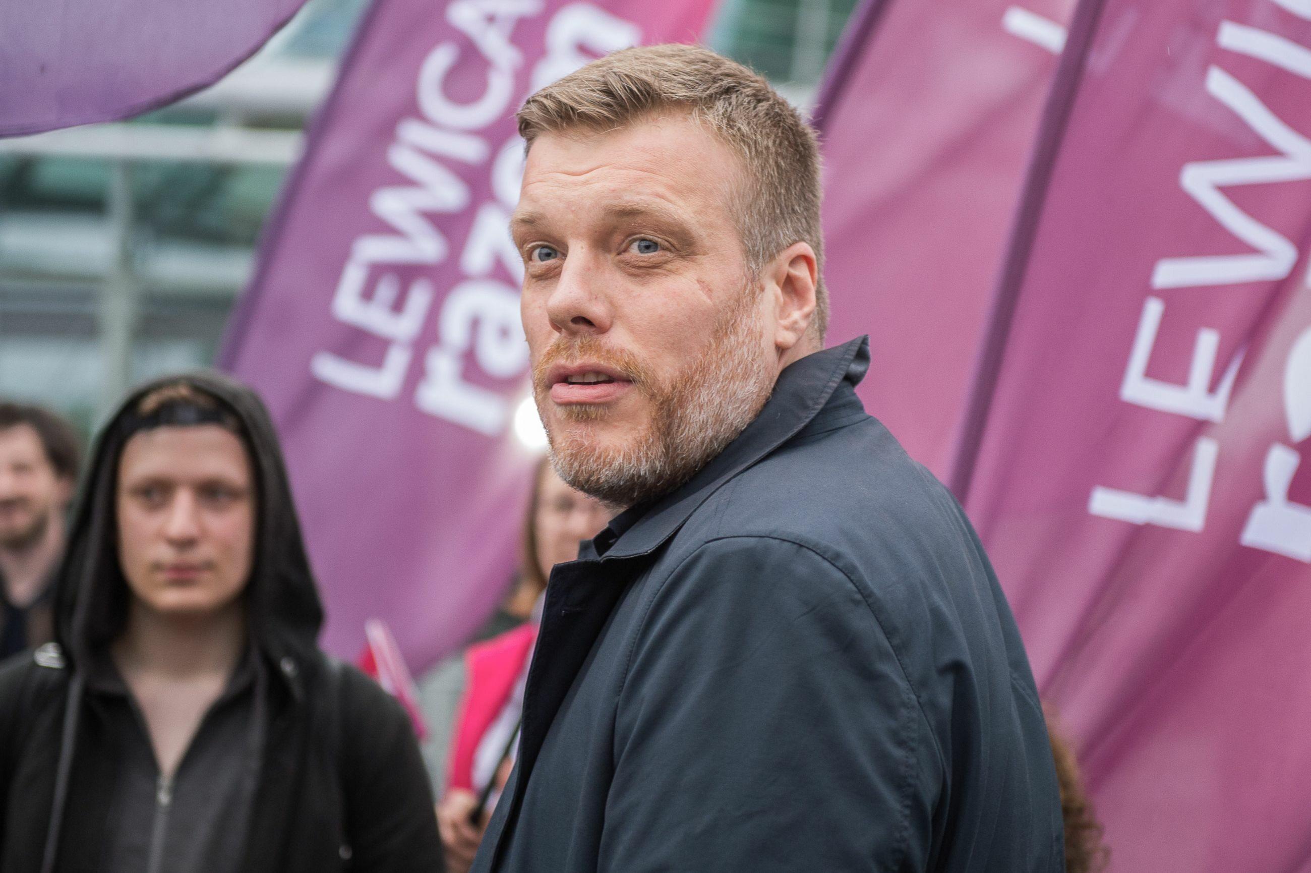Adrian Zandberg, współzałożyciel Lewicy Razem