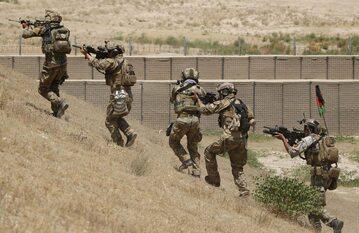 Afganistan. Żołnierze afgańskich sił specjalnych w akcji