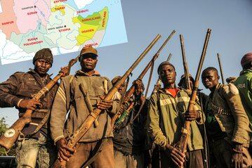 Afrykańskie państwa rozpadają się we krwi