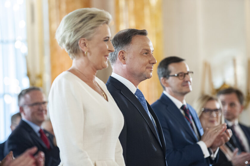 Agata Duda, Andrzej Duda, Mateusz Morawiecki