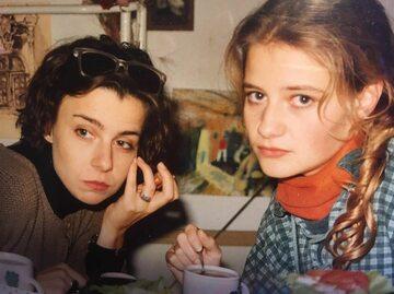 Agata Kulesza i Małgorzata Kożuchowska