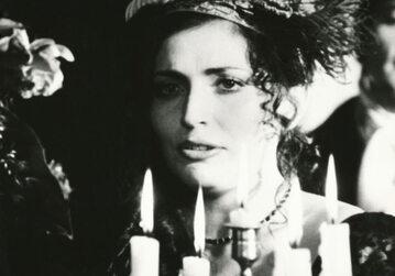 """Agnieszka Fatyga w filmie """"Spowiedź dziecięcia wieku"""" (1985)"""