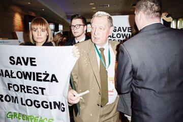 Akcja działaczy Greenpeace Polska