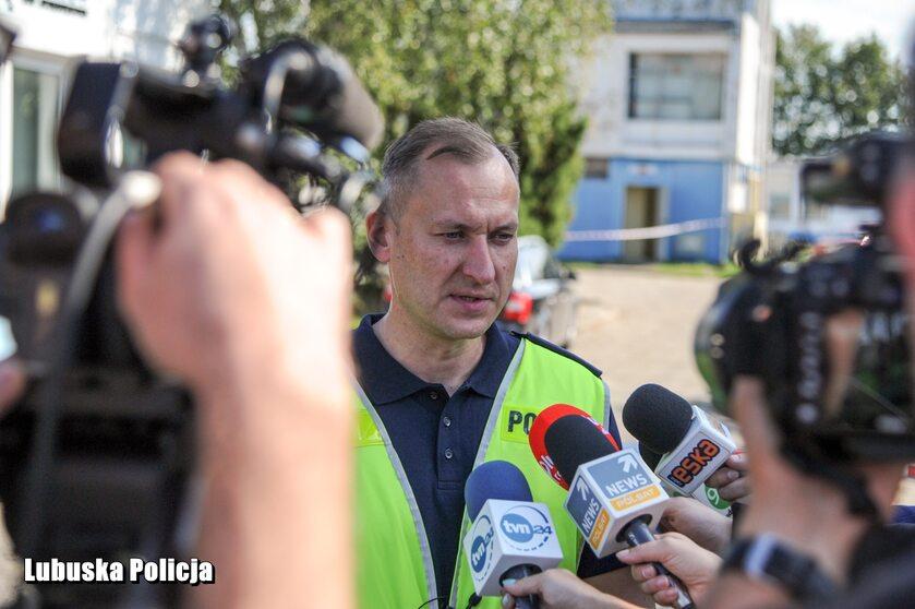 Akcja policji przy ul. Owczej w Gorzowie Wielkopolskim