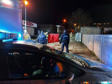 Akcja policji w Brzezinach