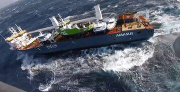 Akcja ratunkowa u wybrzeży Norwegii