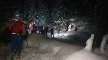 Akcja ratunkowa w Tatrach pod Kopą Kondracką (HZS)