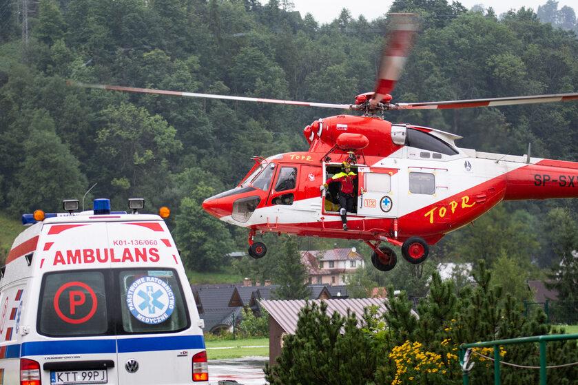 Akcja służb w Tatrach