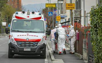 Akcja włoskich służb medycznych