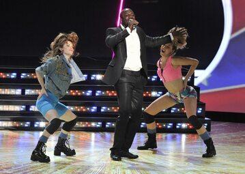 Akon podczas jednego ze swoich występów