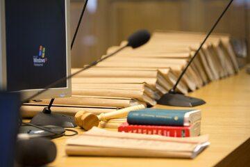 Akta sprawy, dokumenty, sąd zdj. ilustracyjne